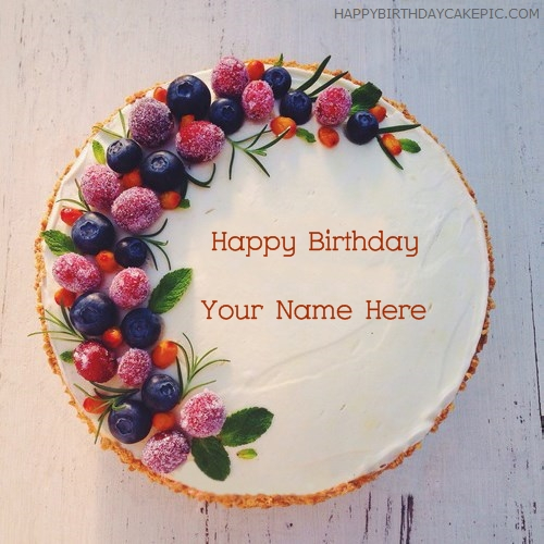 write name on New Birthday Cakes