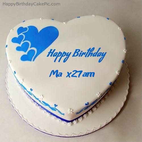 Happy Birthday Cake For Ma'am