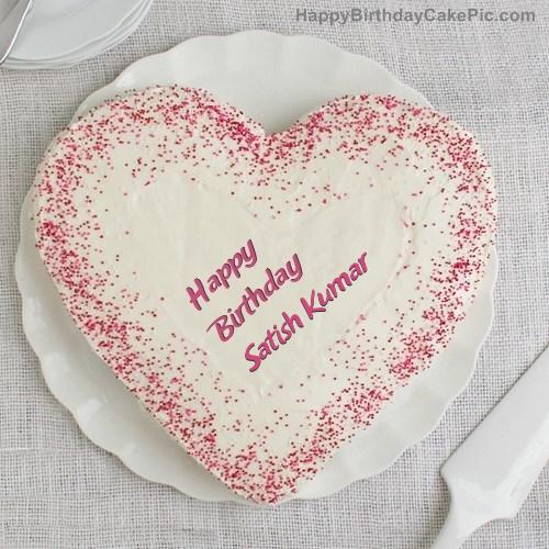 Sprinkle Birthday Cake For Satish Kumar