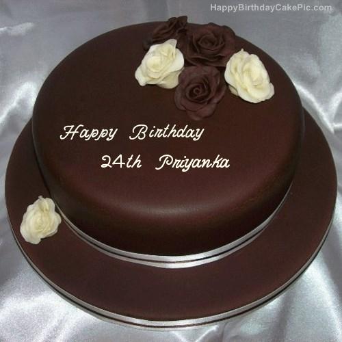 Happy Birthday Priyanka Name Cake Images Happy Birthday Cake With