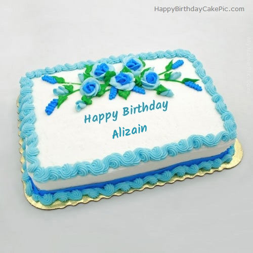 write name on Birthday Flowers Cake