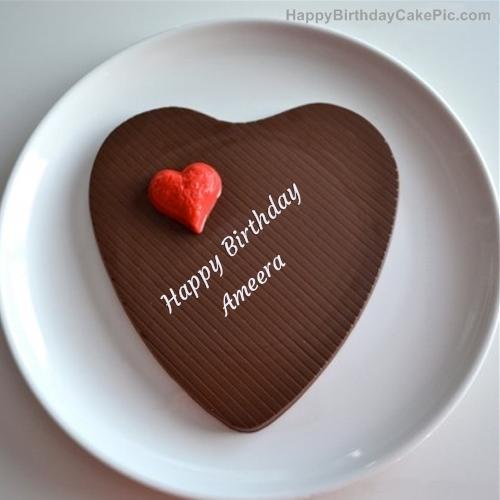 Heart Cake Chocolate