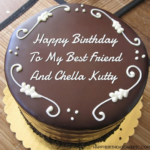 Best Chocolate Birthday Cake For And Chella Kutty