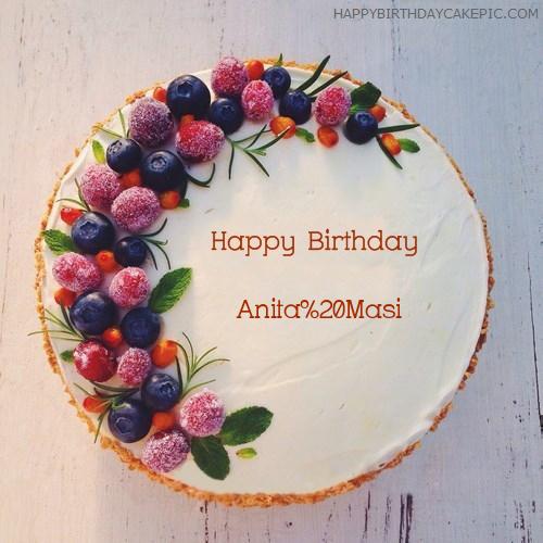 New Birthday Cakes For Anita Masi