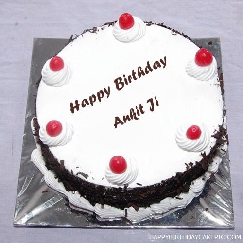Black Forest Birthday Cake For Ankit Ji