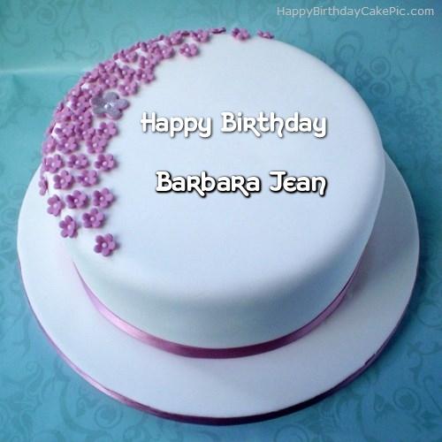 Ice Cream Birthday Cake For Barbara Jean - Birthday cake barbara