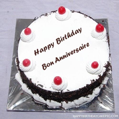 Anniversaire Cake