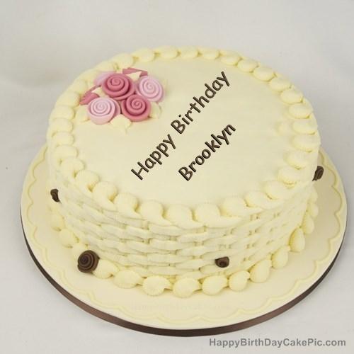 Prime Happy Birthday Cake For Girls For Brooklyn Personalised Birthday Cards Veneteletsinfo
