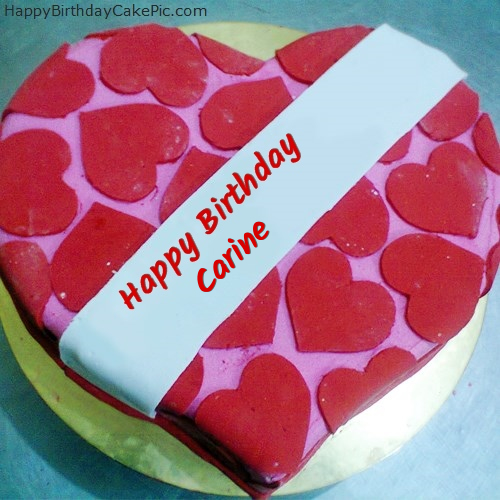 Happy Birthday Cake For Lover For Carine