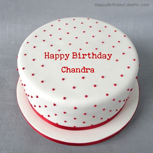 Happy Birthday Chandra Cake