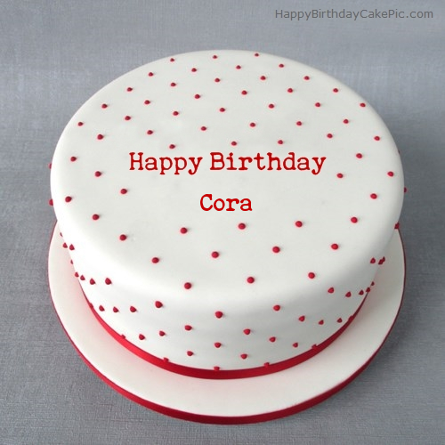 Happy Birthday Cora Cake