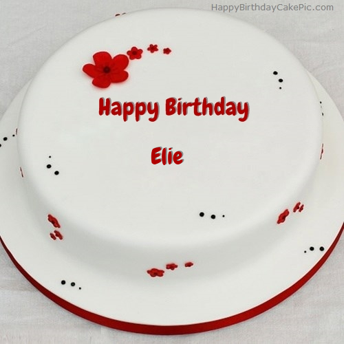 Simple Chocolate Birthday Cake