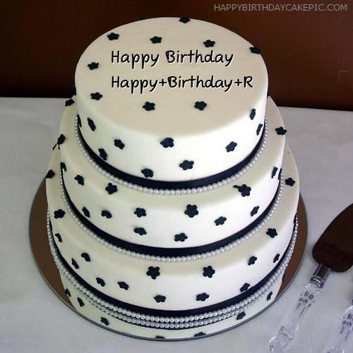 ❤️ Layered Birthday Cake For Happy+Birthday+R