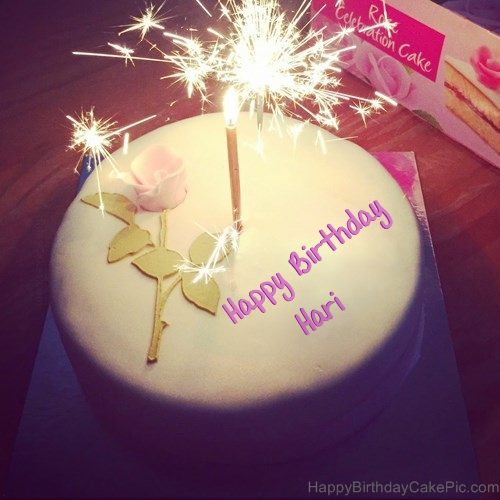 Cake Images With Name Hari : Best Happy Birthday Cake For Lover For Hari