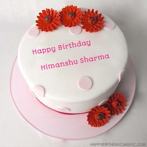 Cake Images Himanshu : Happy Birthday Cake For Himanshu Sharma
