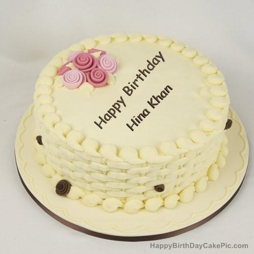 Happy Birthday Cake For Girls For Hina Khan