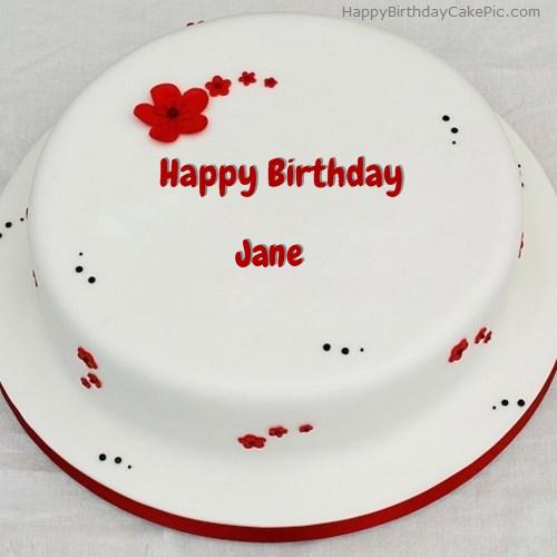 Happy Birthday Jane Cakes