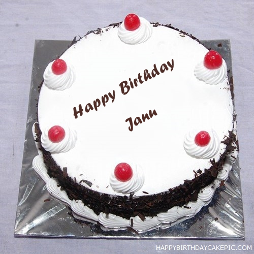 Black Forest Birthday Cake For Janu