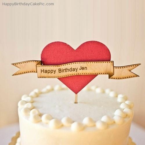 Jennifer Happy Birthday Cake