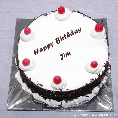 Black Forest Birthday Cake For Jim