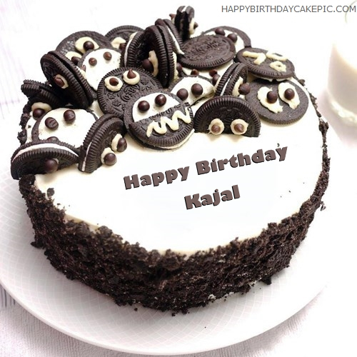 Happy Birthday Cake Images With Name Kajal Brad Erva Doce Info