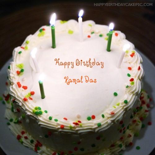 Happy Birthday Kamal Cake