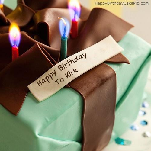 Happy Birthday Kirk Cake