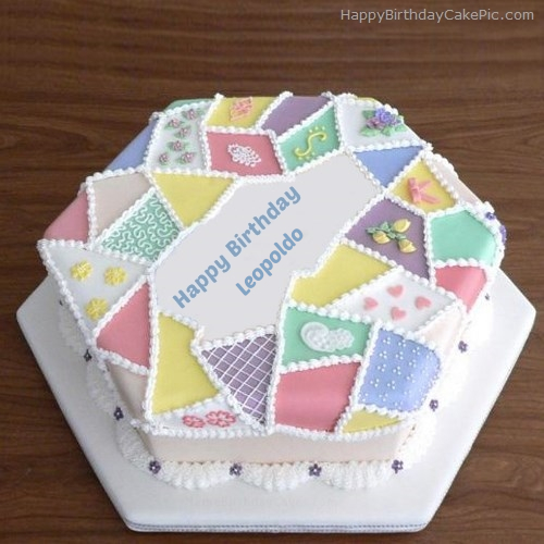 write name on Creative Birthday Cake
