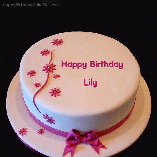 Geez Birthday Cake For Lily