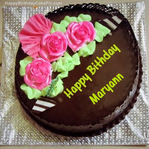 Happy Birthday Maryann Cake