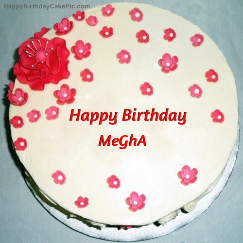 Fondant Birthday Cake For MeGhA