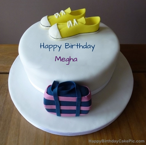 Cake Images With Name Megha : Birthday Cake For Megha