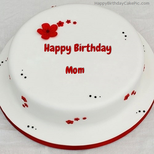 Simple Birthday Cake For Mom