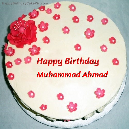 Happy Birthday Mohammad Cake