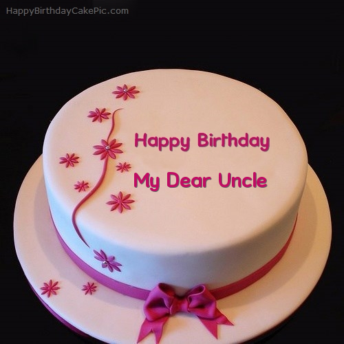 Geez Birthday Cake For My Dear Uncle