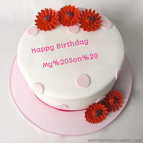 Happy Birthday Cake For My Son