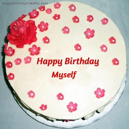 Fondant Birthday Cake For Myself