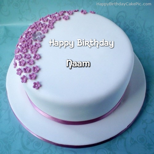 Cake Images With Name Ashu : Ice Cream Birthday Cake For Naam
