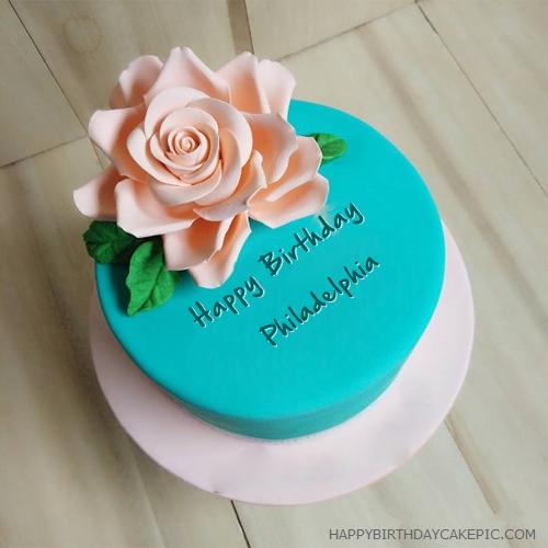 Outstanding Beautiful Best Birthday Cake For Philadelphia Personalised Birthday Cards Epsylily Jamesorg