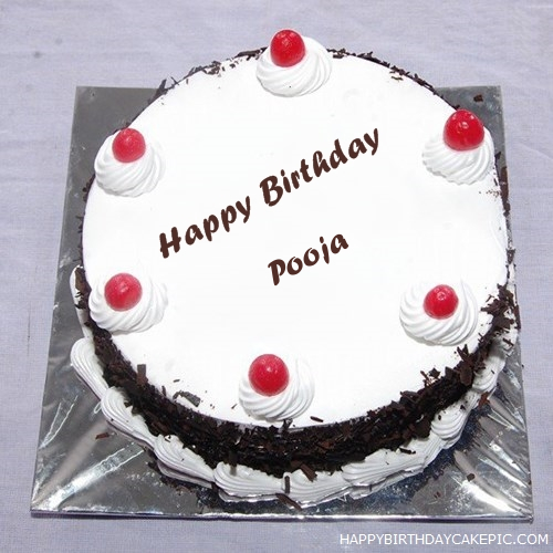 Imagenes De Happy Birthday Cake Images With Name Pooja
