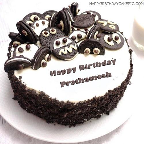 Oreo Birthday Cake For Prathamesh