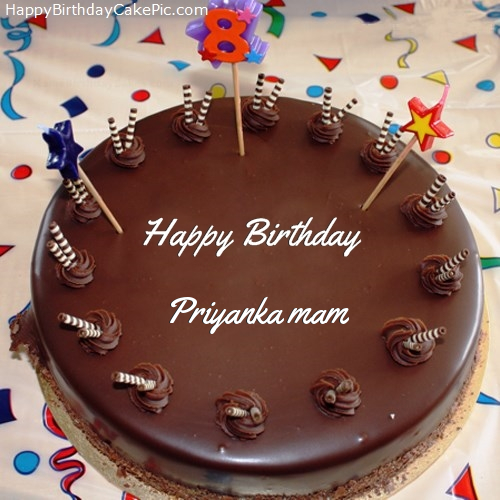 Birthday Cake Name Priyanka Images Muhammad Zakky Muhammad