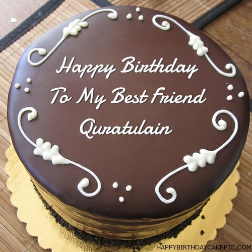 Best Chocolate Birthday Cake For Quratulain