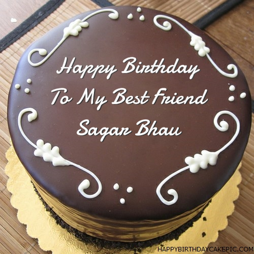 Best Chocolate Birthday Cake For Sagar Bhau