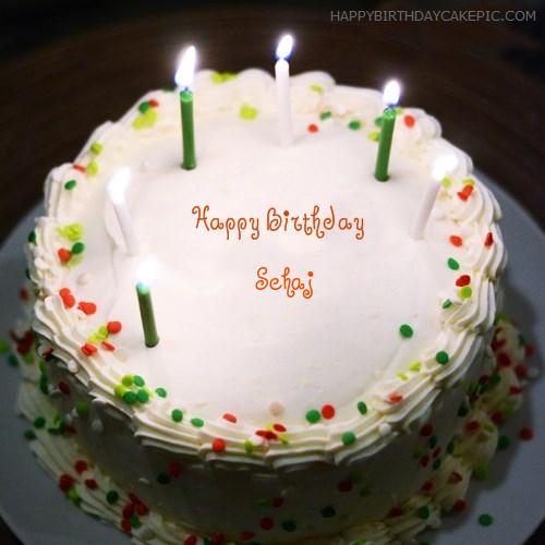 Birthday Wish On Cake Pic