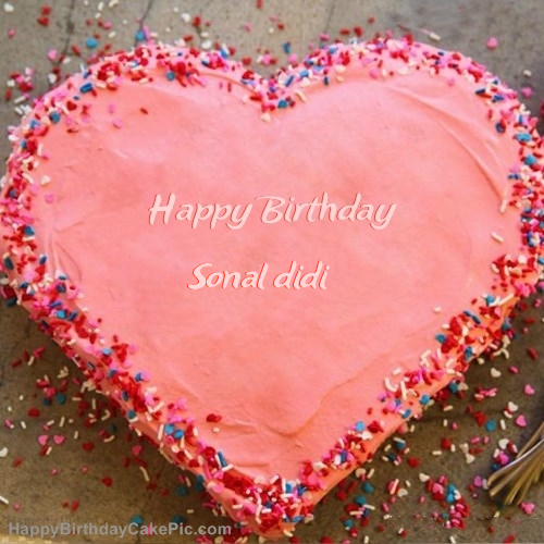 Best Birthday Cake For Sonal didi