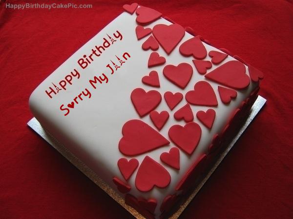 Happy Birthday Wishes Jaan ~ Birthday wish beautiful cake for sorry my jaan