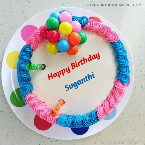 Colorful Birthday Cakes Pictures