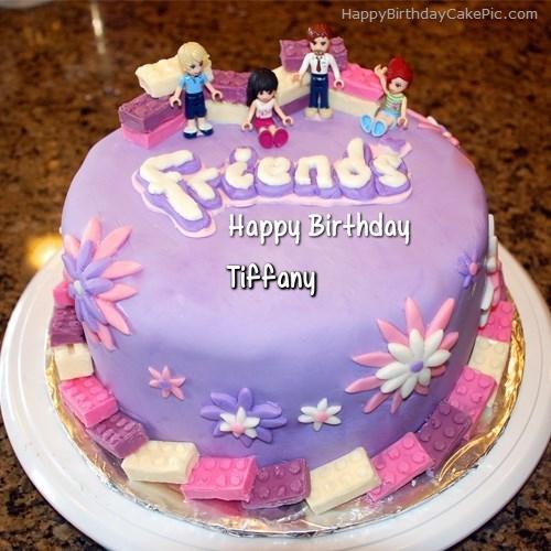 Friendship Birthday Cake For Tiffany