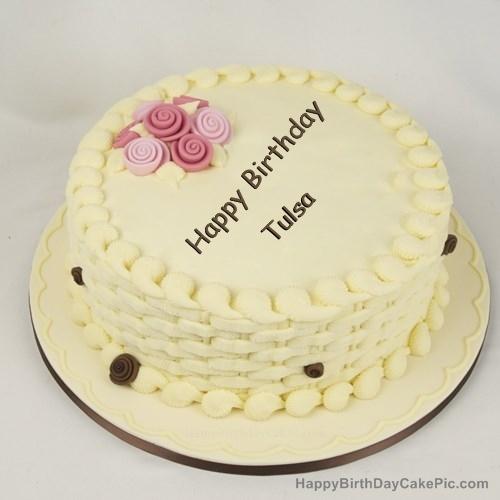 Stupendous Happy Birthday Cake For Girls For Tulsa Personalised Birthday Cards Veneteletsinfo